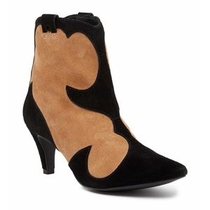 Suede Two-Tone Majesty Boot